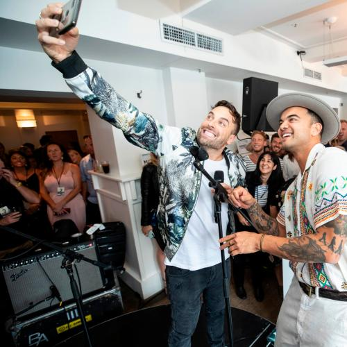 Guy Sebastian Treats Fans At Our Exclusive Live Show!
