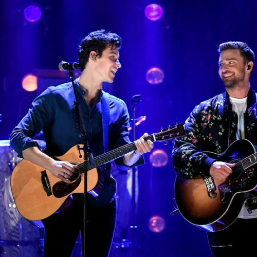 Shawn Mendes Joins Justin Timberlake On Stage For Duet