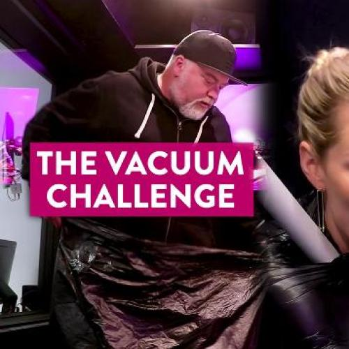 The Vacuum Challenge: Sophie Monk, Jack Vidgen + Kyle and Jackie O!