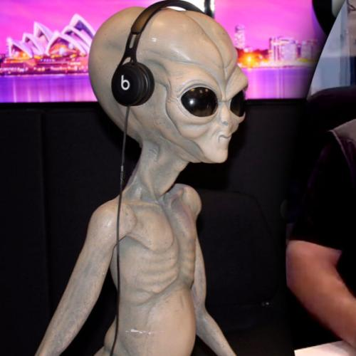 Kyle and Jackie O Speak Directly To An Alien On Radio