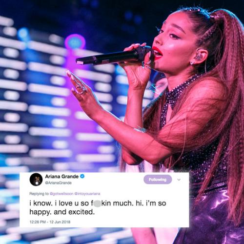 Looks Like Ariana Grande Just Confirmed That She's Engaged