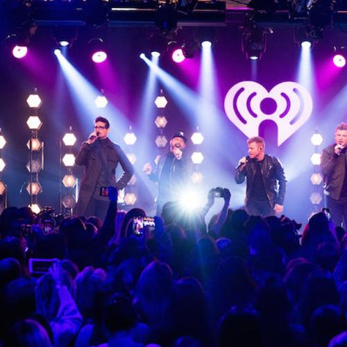 Backstreet Boys Celebrate 'DNA' At Epic Album Release Party