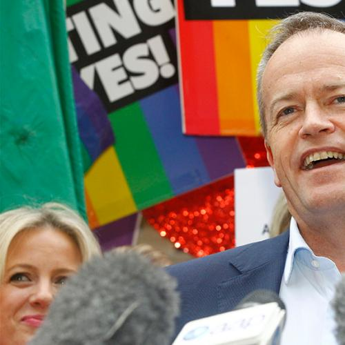 Bill Shorten Makes Amazing Marriage Equality Announcement