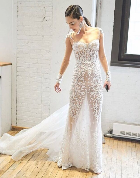 The Wedding Dress Trend Taking Over We Re Not Sure About