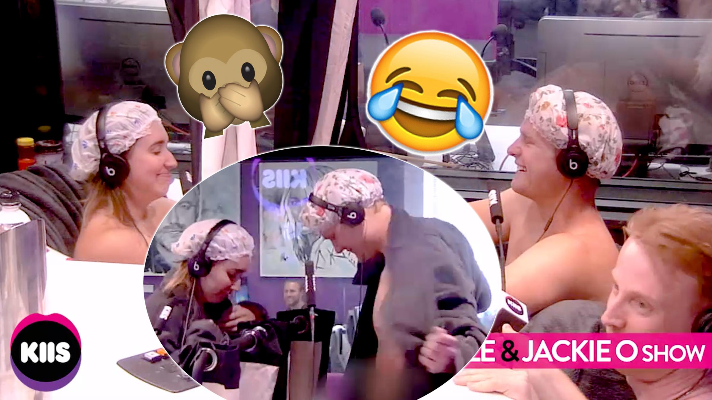 Kj Show: A Boss & Employee Get Naked On Buddies In The Bath