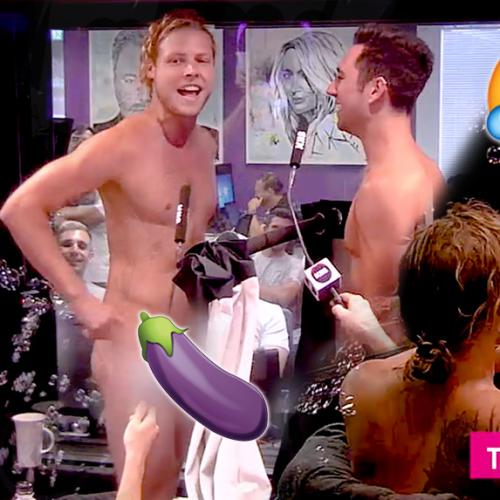 Kj Show: Brothers-In-Law Get Naked On Buddies In The Bath