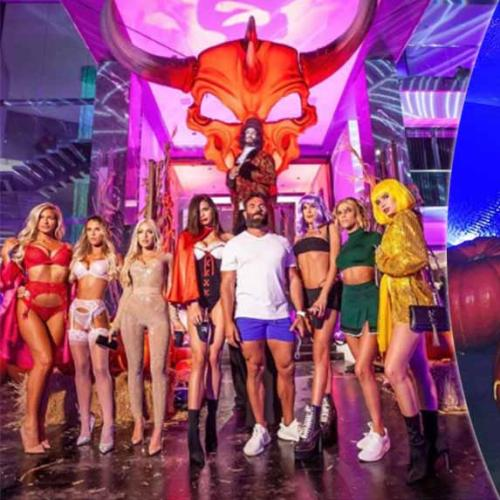 Inside Dan Bilzerian's Salacious Halloween Party