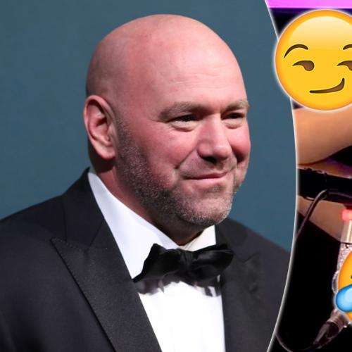 Jackie Just Told Dana White She'd 'Go There' With Him