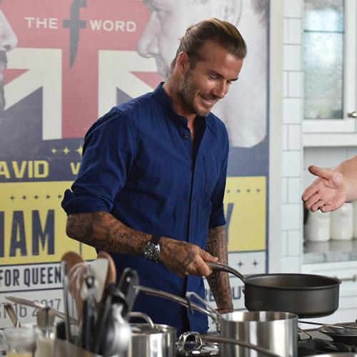 David Beckham Rumoured To Be Getting His Own Cooking Show