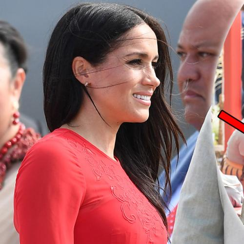 Meghan Markle Accidentally Leaves The Tag On Her $600 Dress