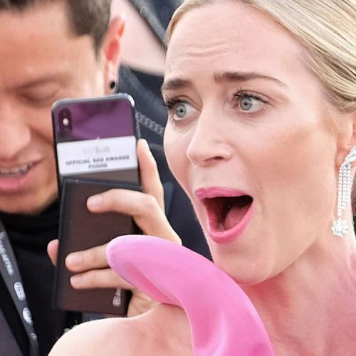 Emily Blunt's 'Vagina Dress' Has Gone Viral