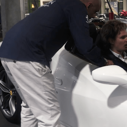 Pretend To Work For Prince Harry... And End Up In A Ferrari!