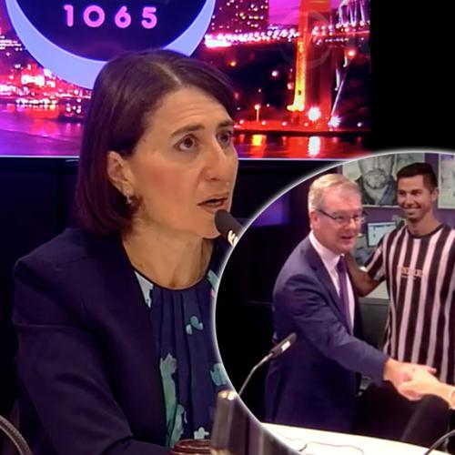 Gladys And Michael Go Head To Head Before State Election