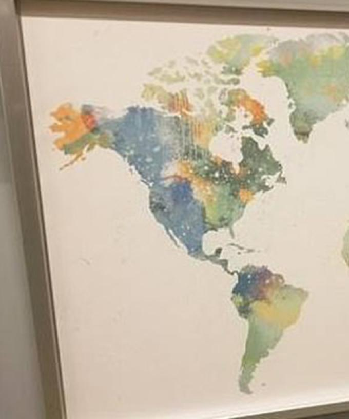 This Ikea World Map Has A Very Noticeable Mistake