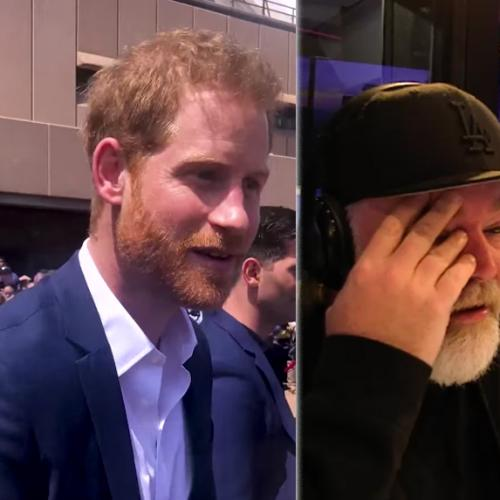 Intern Pete's Embarrassing Meeting With Harry And Meghan