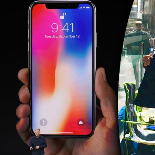Guy Waits Outside Apple Store 10 Days Before iPhone Launch