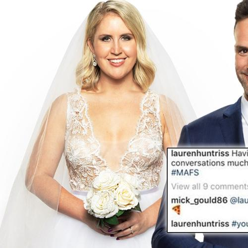 Is This Proof That MAFS' Lauren And Mick Are Dating?