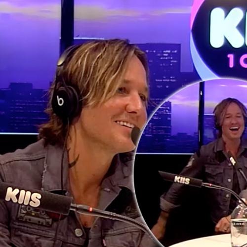 Keith Urban And Jackie O Have A Flossing Competition