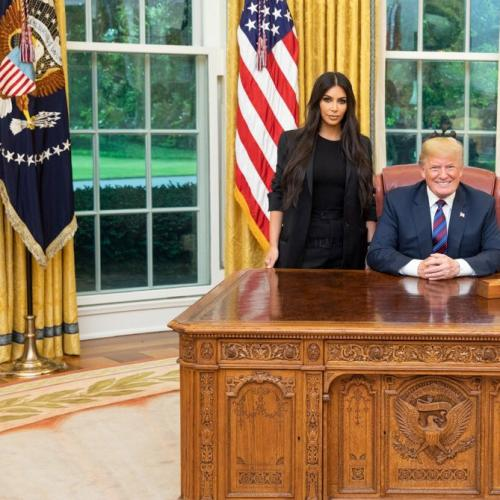 Kim Kardashians Meeting With Donald Trump Appears Successful