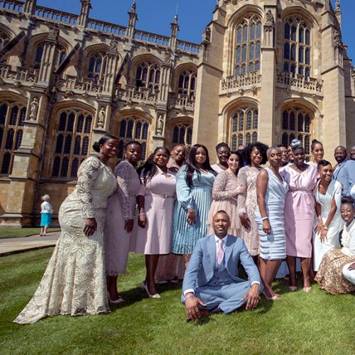 Kingdom Choir From Royal Wedding Covers Beyonce's Halo