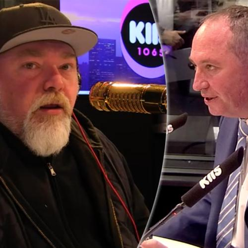 Kyle And Barnaby Joyce Address Their Massive Blow Up