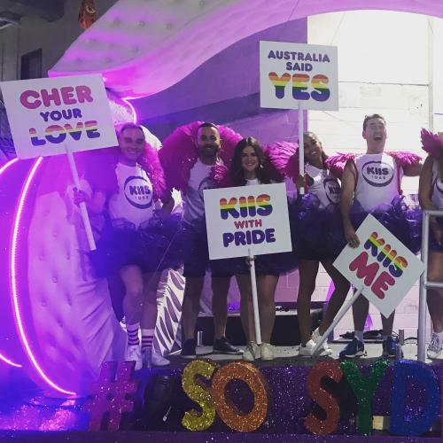The Kiis Mardi Gras Float Has Been Revealed