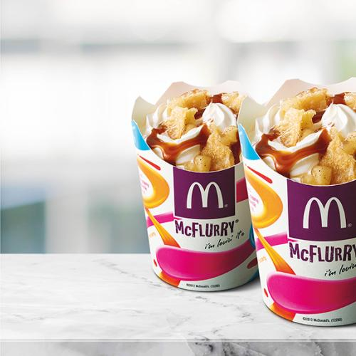 Maccas Unveils New McFlurry Flavour & It's The Perfect Combo
