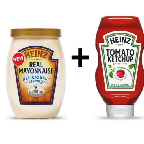 Mayonnaise And Tomato Sauce Together At Last!