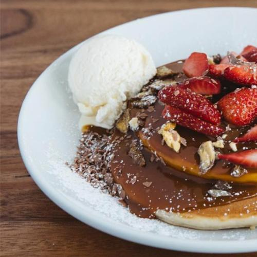 Bay Vista Dessert Bar Giving Away Free Pancakes Today