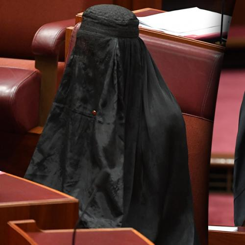 Pauline Hanson Explains That Burqa Stunt In Senate Yesterday