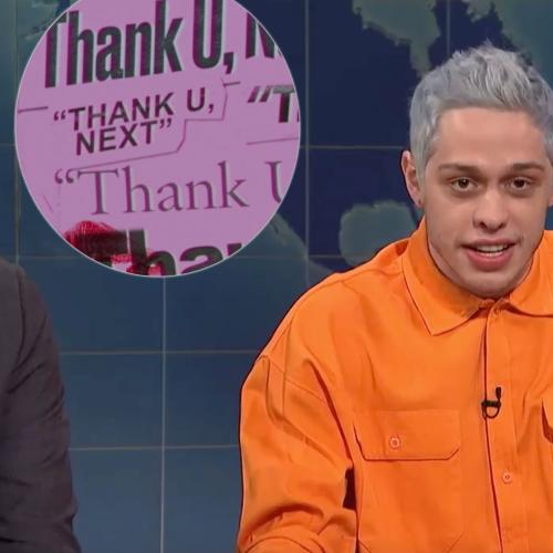 Pete Davidson Speaks About Ariana Grande Breakup On Snl