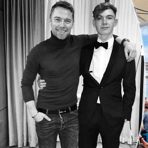 Ronan Keating's Son Has Been Working In Bondi