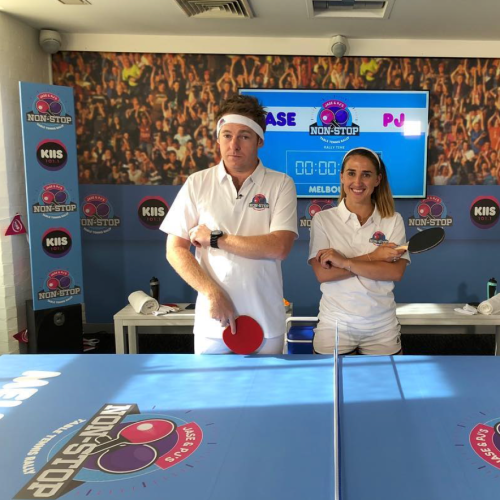 Jase & PJ's Non-Stop Table Tennis Rally