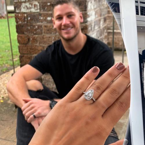 Tayla Damir Teases Engagement With Dom Thomas