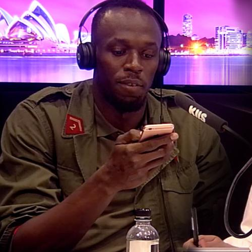 We Gave Out Usain Bolt's Australian Number Live On Air