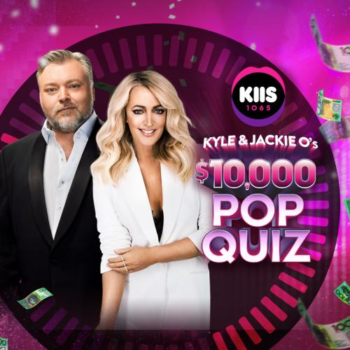 Kyle and Jackie O's $10,000 Pop Quiz
