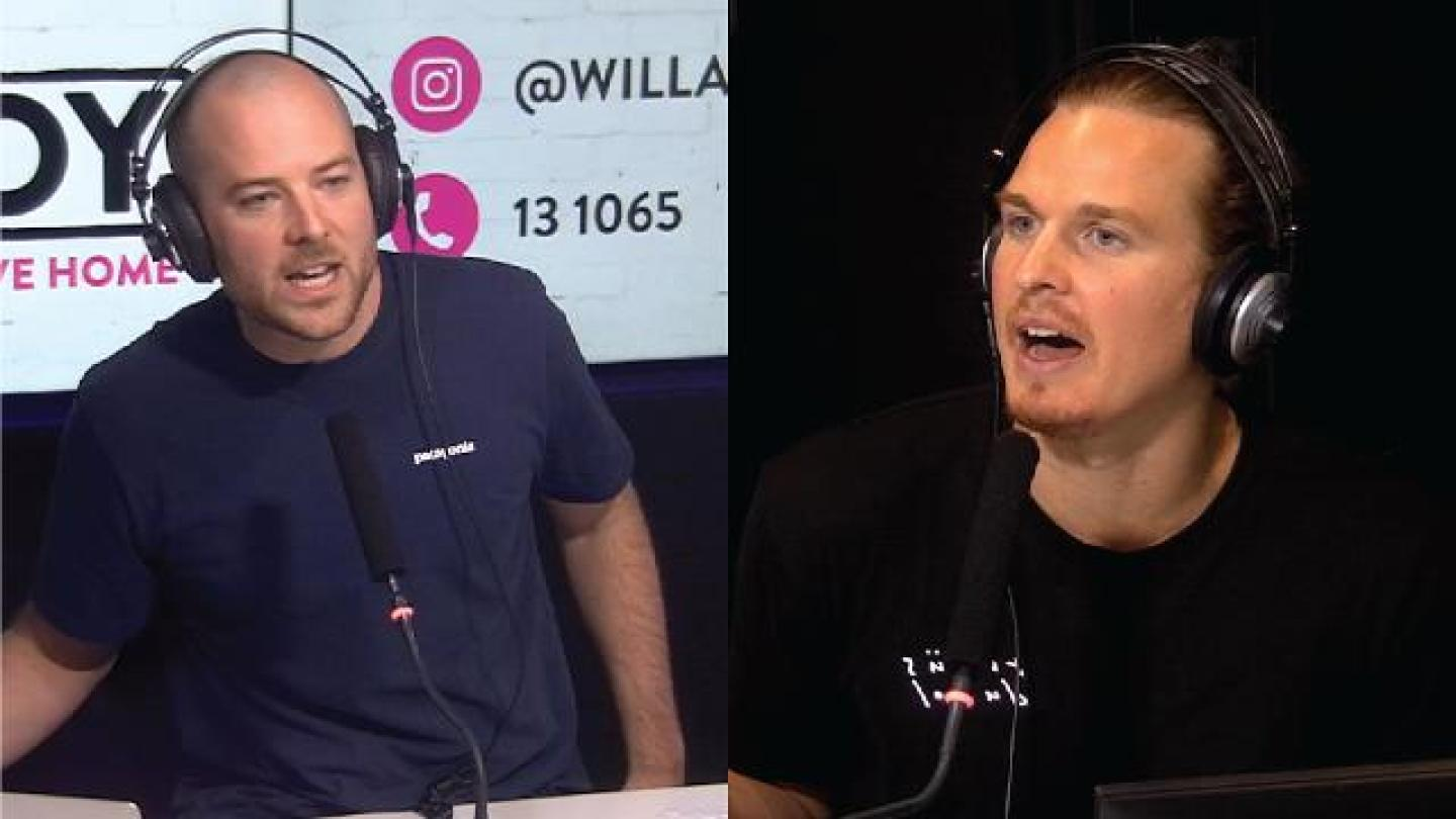 Will & Woody Have Huge Spat Live On Radio