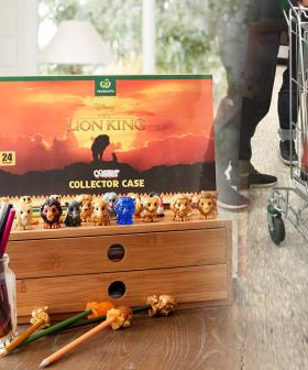 Woolies Customer Slammed For Buying A Trolley Full Of Lion King Collectables To 'Scalp Online'
