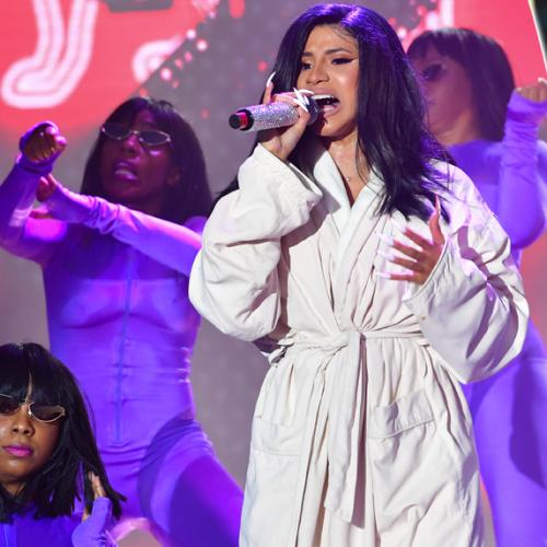 Cardi B Has Major Wardrobe Malfunction At Festival