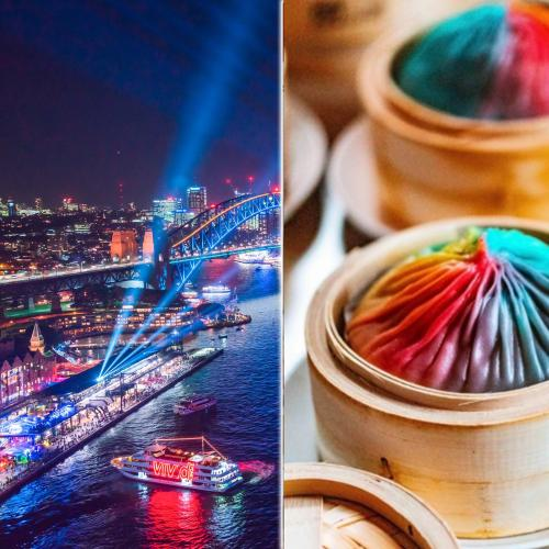 Huge Rainbow Dumplings Coming To Sydney