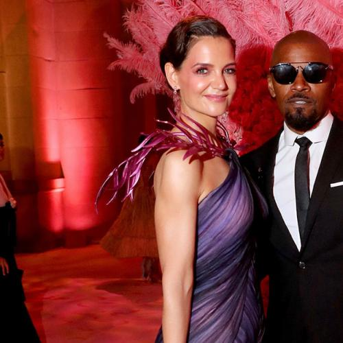 Jamie Foxx & Katie Holmes Hit Met Gala For First Major Event