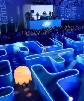 A Real Life Pac-Man Maze Will Pop Up In Sydney