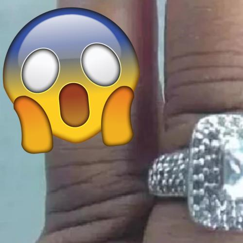 Woman's Engagement Ring Photo Gets The Internet Talking