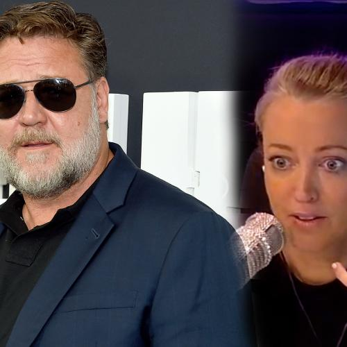 Russell Crowe Leaves A Voicemail For Kyle And Jackie O