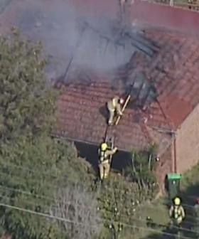 Fire Engulfs House In Sydney's North-West