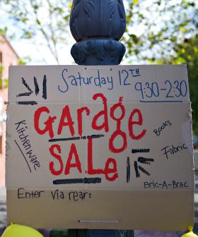 NSW Grandmother Threatened With $220 Fine For Putting Up A 'Garage Sale' Sign