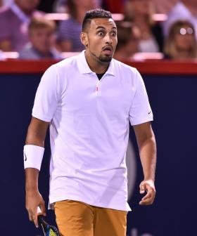 """Absolute Rubbish!"": Nick Kyrgios Verbally Abuses And Spits Towards Umpire"