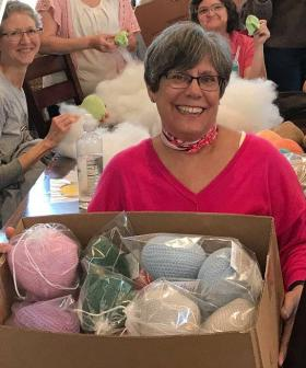 Knitted Knockers: The Women Bringing Comfort To Breast Cancer Survivors
