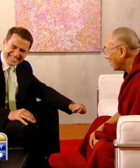 Karl Stevanovic On That Dad Joke Fail With The Dalai Lama