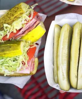 This Sandwich Shop Has Swapped Out Bread For Giant Pickles